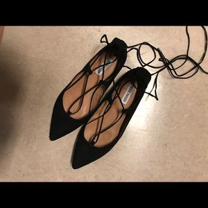 Steve Madden Shoes - Steve Madden Lace Up Flats